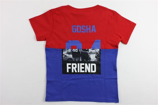 t-shirt mezza manica bicolore con stampa LES (ART) ISTS | T-shirts | MIXGOSHAROSSO