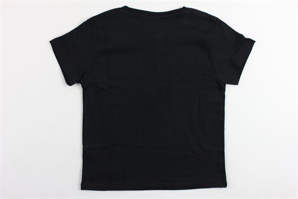t-shirt mezza manica tinta unita stampa les artists LES (ART) ISTS | T-shirts | TBASESIGNNERO