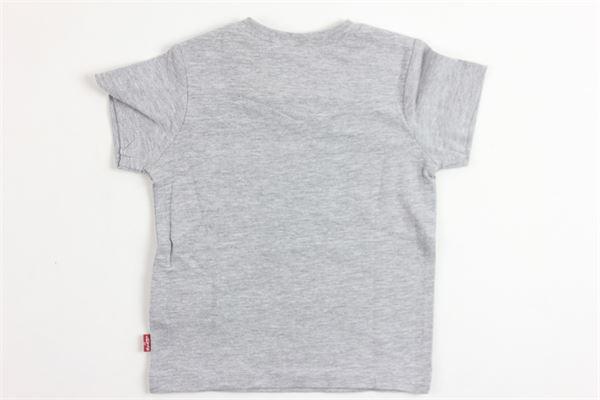 t-shirt mezza manica con stampa LEVI'S | T-shirts | NJ1004GRIGIO