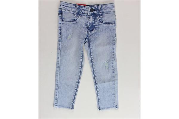 jeans tita unita con girovita regolabile LEVI'S   Jeans   OCNNL23617AZZURRO