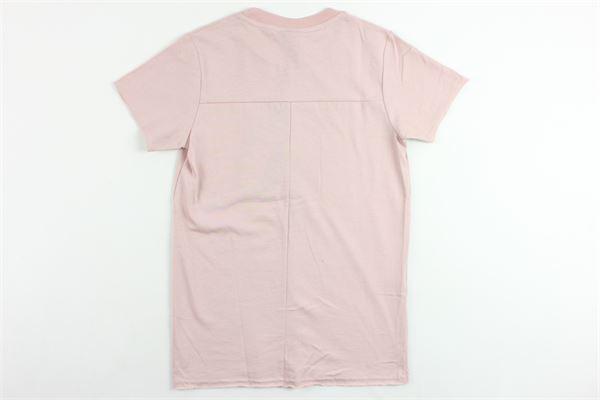 t-shirts mezza manica tinta unita con stampa MADD | T-shirts | B4452ROSA