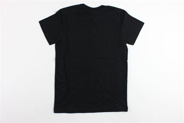 t-shirts mezza manica tinta unita con stampa MADD | T-shirts | B4483NERO