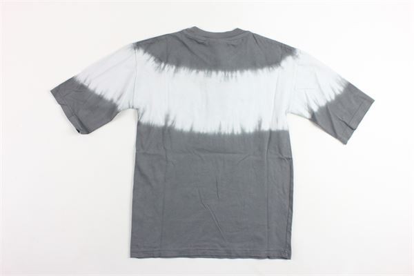t-shirt mezza manica tinta unita profili in contrasto MADD | T-shirts | B4497GRIGIO