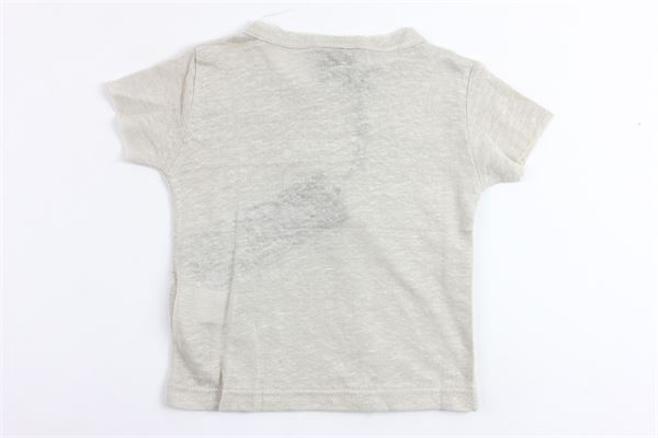 t-shirt mezza manica tinta unita 100%lino MADD | T-shirts | TOKIOBEIGE