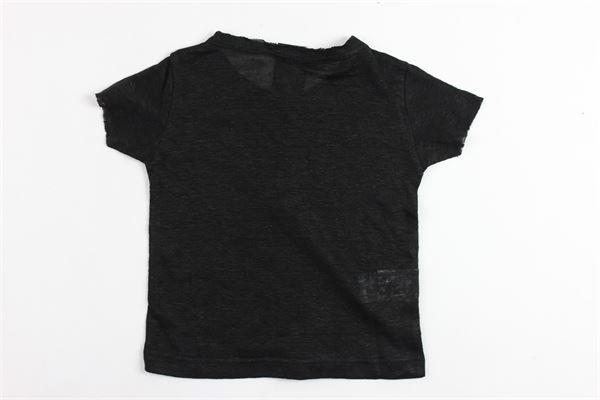t-shirt mezza manica tinta unita 100%lino MADD | T-shirts | TOKIONERO