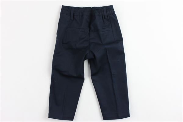 pantalone tinta unita tasca america con elastico in vita MANUEL & FRANK   Pantaloni   M2470/NBLU