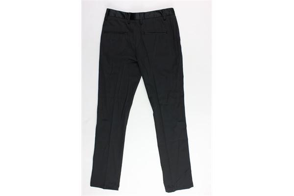 pantalone tasca america tinta unita MANUEL RITZ | Pantaloni | MR0582NERO