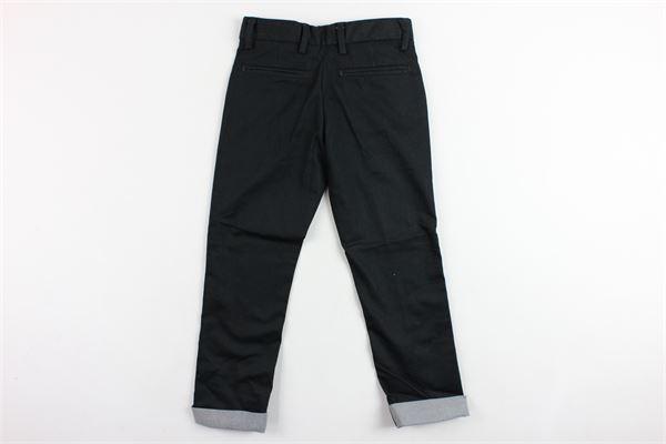 pantalone tasca america tinta unita MANUEL RITZ | Pantaloni | MR0641NERO