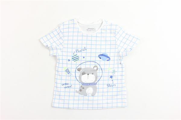 t-shirt mezza manica con stampa MAYORAL | T-shirts | 10055BIANCO