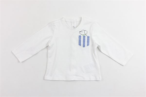 shirts manica lunga in cotone con taschino MAYORAL | Shirts | 10066BIANCO