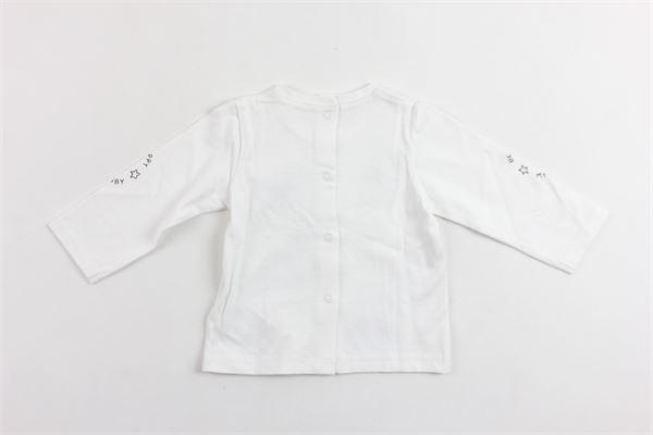 shirt manica lunga in cotone con stampa MAYORAL | Shirts | 1006BIANCO
