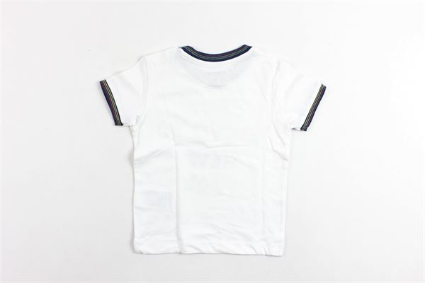 t-shirt mezza manica tinta unita con stampa MAYORAL | T-shirts | 10288BIANCO