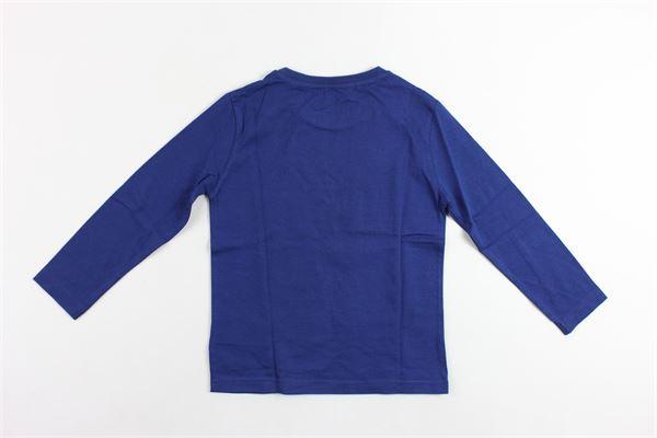 shirt manica lunga tinta unita con stampa MAYORAL | Shirts | 3047BLU