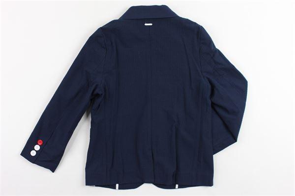 giacca tinta unita microfantasia MAYORAL | Giacche | 3420BLU