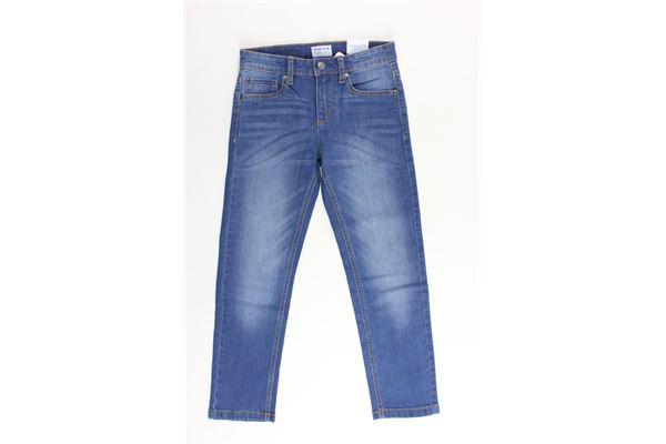 jeans 5 tasche tinta unita girovita regolabile MAYORAL | Jeans | 4600BLU