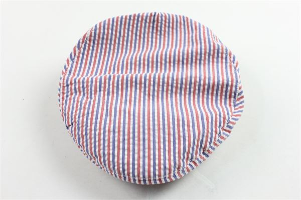 cappello modello coppola rigata MIMISOL | Cappelli | 19EMA105ST0201ROSSO