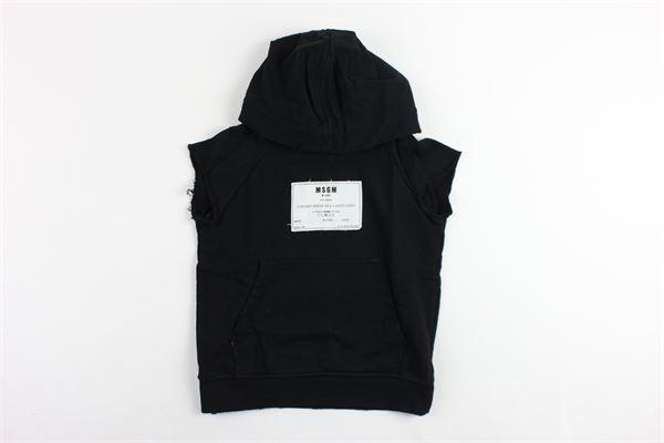 MSGM | Sweatshits | 018544NERO