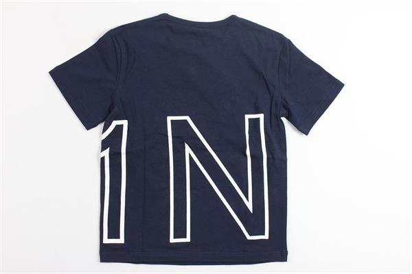 t-shirt mezza manica stampa n21 N°21 | T-shirts | 07XY7005448BLU