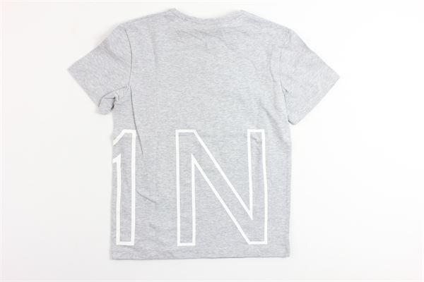 t-shirt mezza manica stampa n21 N°21 | T-shirts | 07XY7005448GRIGIO