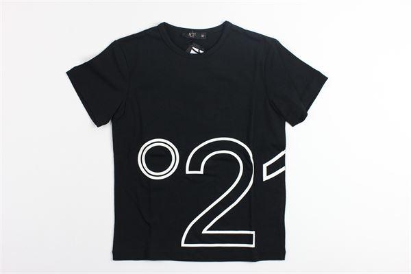 t-shirt mezza manica stampa n21 N°21 | T-shirts | 07XY7005448NERO.