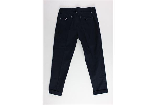 pantalone tinta unita tasca america girovita regolabile NEILL KATTER | Pantaloni | 12200BLU