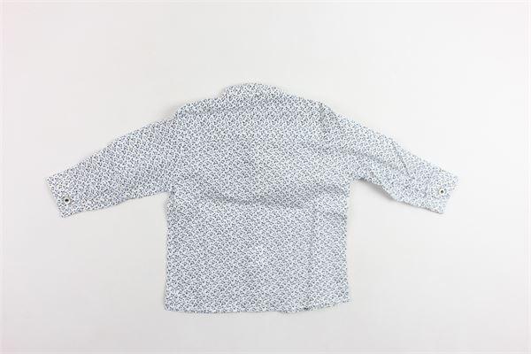 camicia manica lunga microfantasia NEILL KATTER | Camicie | 52300BIANCO