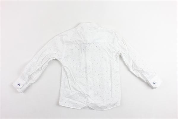 camicia manica lunga tinta unita traforata NEILL KATTER | Camicie | 54327BIANCO