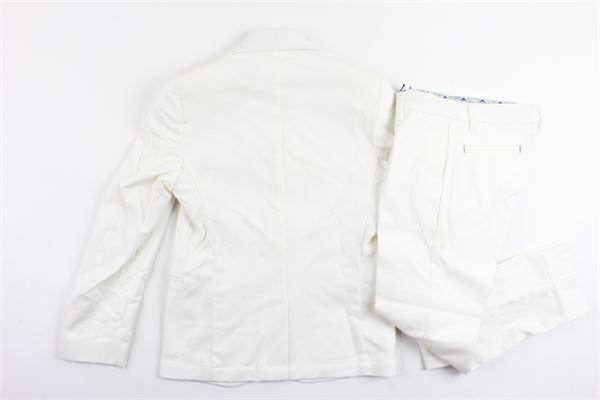 completo cerimonia giacca più pantalone tinta unita NEILL KATTER | Completi | 715229BIANCO