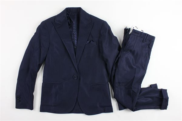 completo cerimonia giacca più pantalone tinta unita NEILL KATTER | Completi | CARLPE18BABYBLU