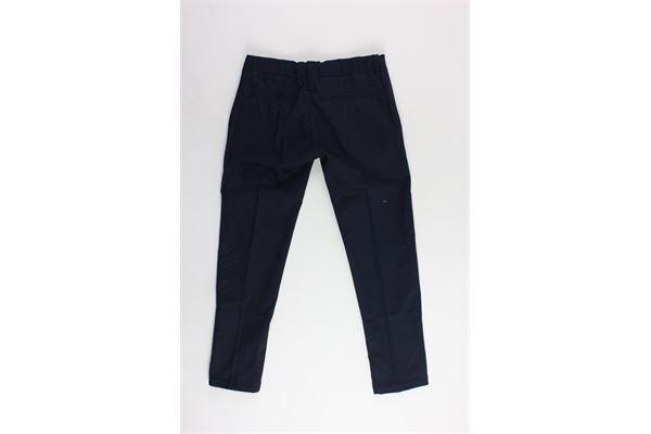 pantalone tinta unita tasca america girovita regolabile NEILL KATTER | Pantaloni | GFB007STSRBLU