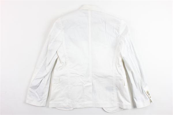 giacca tinta unita sfoderata con taschino NEILL KATTER | Giacche | TAMPE17BABYBIANCO