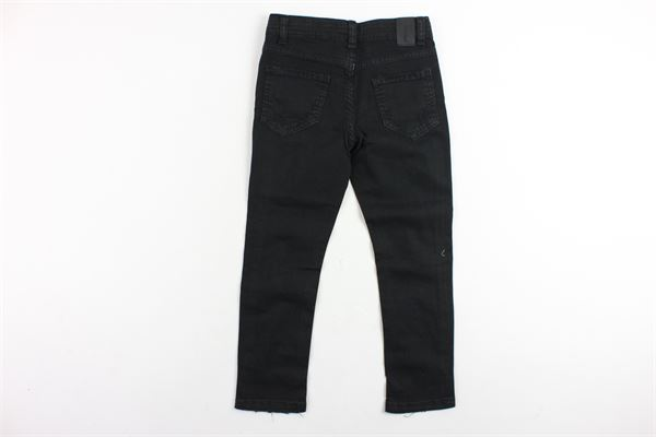pantalone in denim 5 tasche tinta unita NUMBERS | Pantaloni | NB19NERO