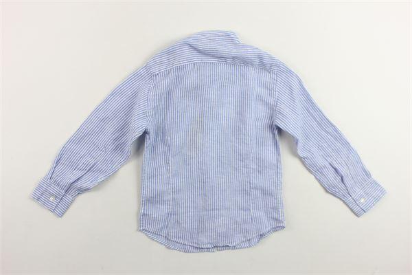 camicia manica lunga rigata NUPKEET | Camicie | BATBLU