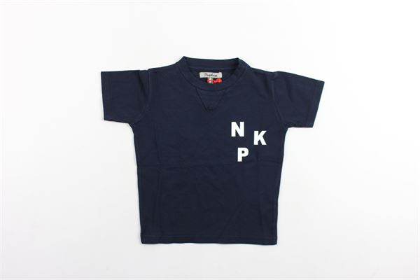 t-shirt mezza manica tinta unita con stampa NUPKEET | T-shirts | CITIZENBLU