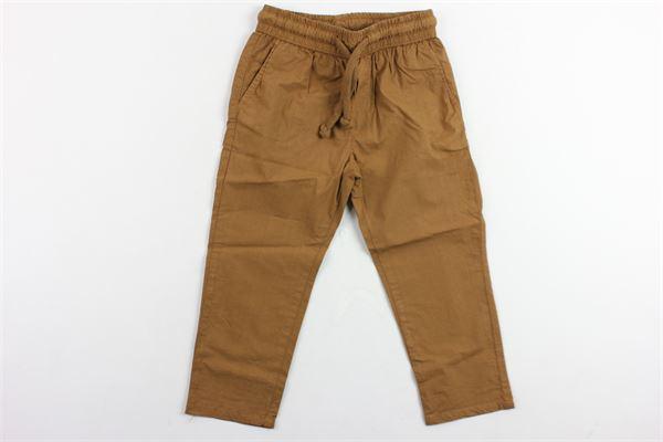 pantalone tinta unita elastico in vita NUPKEET | Pantaloni | TIMEXMARRONE