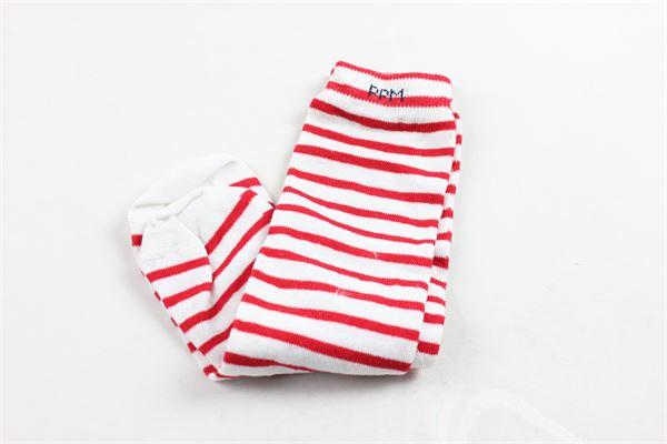 calzini lunghi rigati PAOLO PECORA | Calzini | CALZINIPAOLOPECORABIANCO