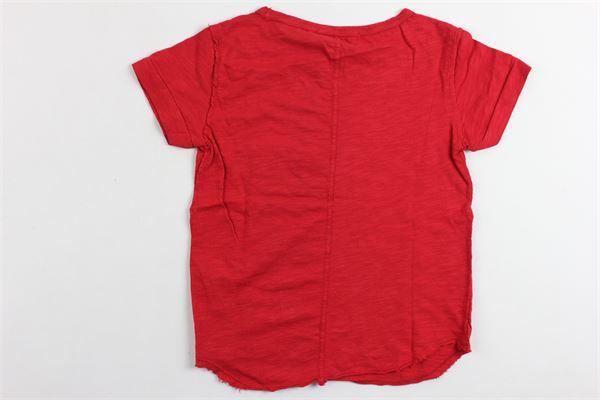 t-shirt in cotone mezza manica tinta unita PAOLO PECORA | T-shirts | PP1320ROSSO