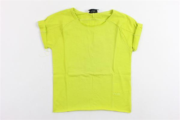 t-shirt tinta unita PAOLO PECORA | T-shirts | PP1340VERDE