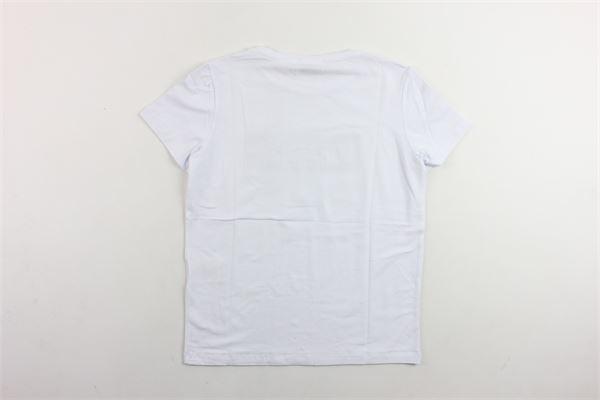 t-shirts mezza manica con stampa PAOLO PECORA | T-shirts | PP1712BIANCO