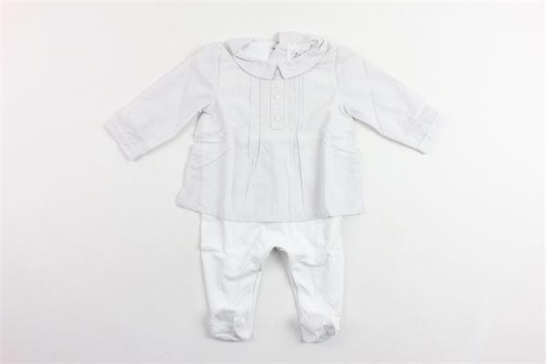 tutina manica lunga in cotone camicia rigata modello serafino PATACHOU   Tutine   BAB2633017GRIGIO