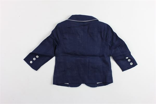 giacca tinta unita in lino PATACHOU | Giacche | BLA2833366BLU