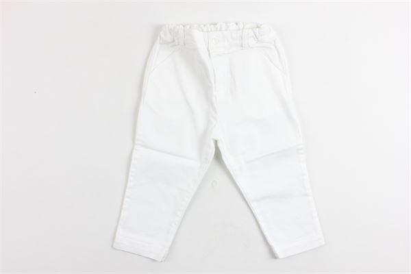 pantalone tinta unita elastico in vita PATACHOU   Pantaloni   CAL2833310BIANCO