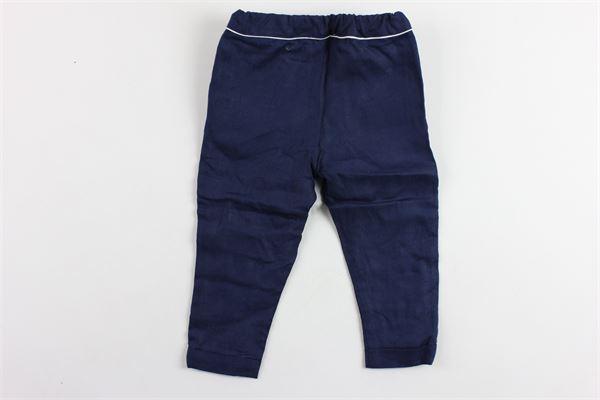 pantalone tinta unita tasca america in lino PATACHOU   Pantaloni   CAL2833367BLU
