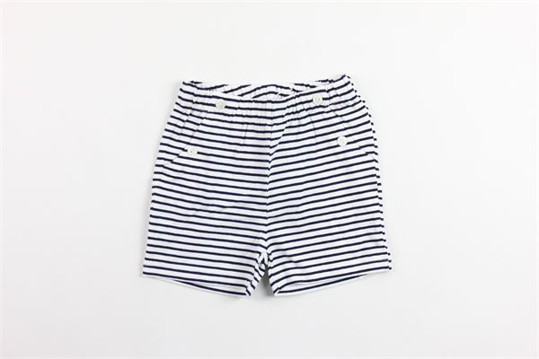 short in cotone rigato tasca america PATACHOU | Shorts | CL2833158BLU