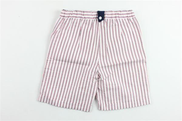 bermuda tasca america in cotone rigato PATACHOU   Bermuda   CL2833340BIANCO