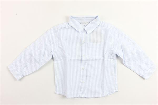 camicia manica lunga in cotone rigata PATACHOU   Camicie   CM2833312AZZURRO