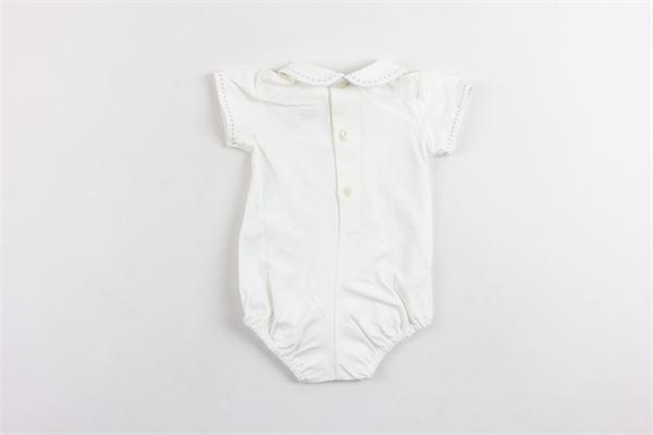 body mezza manica tinta unita con colletto PAZ RODRIGUEZ | Body | 02019353BIANCO
