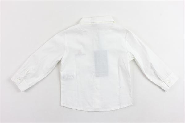 camicia manica lunga tinta unita in cotone PEUTEREY | Camicie | PTB0210BIANCO