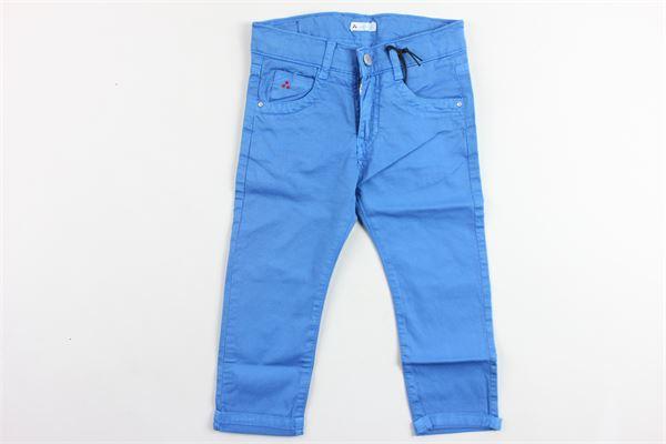 pantalone tasca america tinta unita PEUTEREY | Pantaloni | PTB0295COBALTO