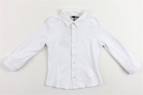 polo modello camicia tinta unita manica lunga PEUTEREY | Polo | PTB0685BIANCO
